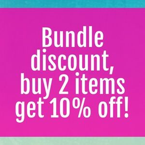 Bundle discount!